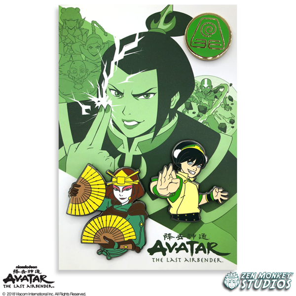 The Last Airbender: Book 2 - Limited Edition Pin Set
