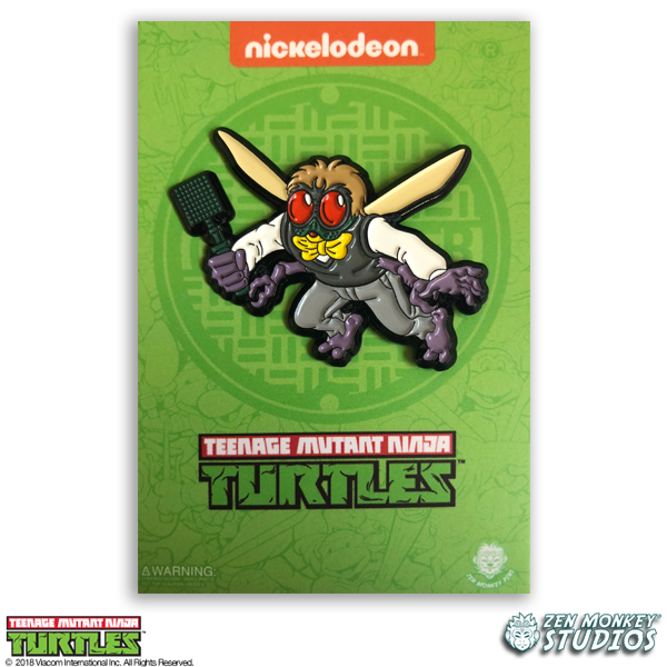Flying Baxter Stockman - TMNT Pin