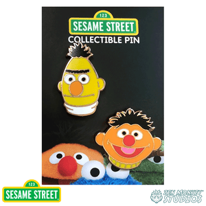 Bert and Ernie 2 Pin Set -  Sesame Street Pin