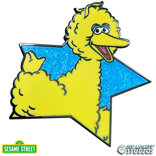 Star Series: Big Bird - Sesame Street Pin