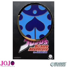 Load image into Gallery viewer, Giorno's Brooch (Anime Colors) - JoJo's Bizarre Adventure Pin