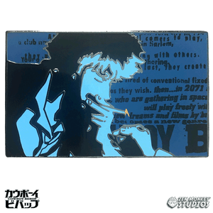 Blue Cig Spike (Theme Song) - Cowboy Bebop Enamel Pin