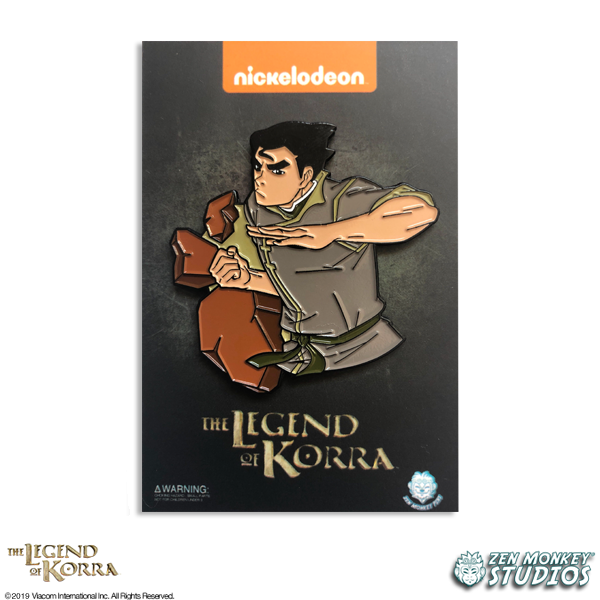 Earthbending Bolin - The Legend of Korra Pin
