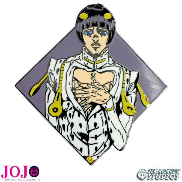 Diamond Bruno Bucciarati - JoJo's Bizarre Adventure Pin