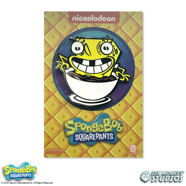 Caffeinated SpongeBob - Limited Edition Pin