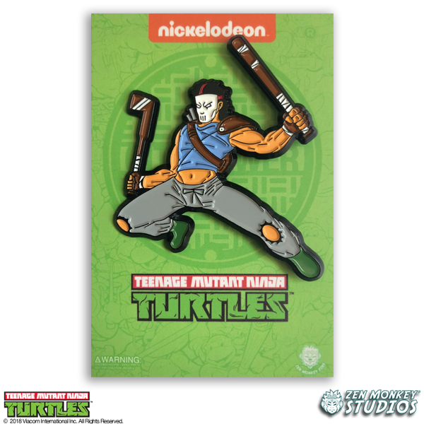 Leaping Casey Jones - TMNT Pin