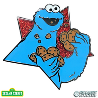 Star Series: Cookie Monster - Sesame Street Pin