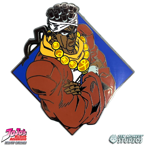 Diamond Avdol - JoJo's Bizarre Adventure Pin