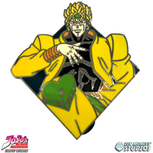 Load image into Gallery viewer, Diamond DIO - JoJo's Bizarre Adventure Pin