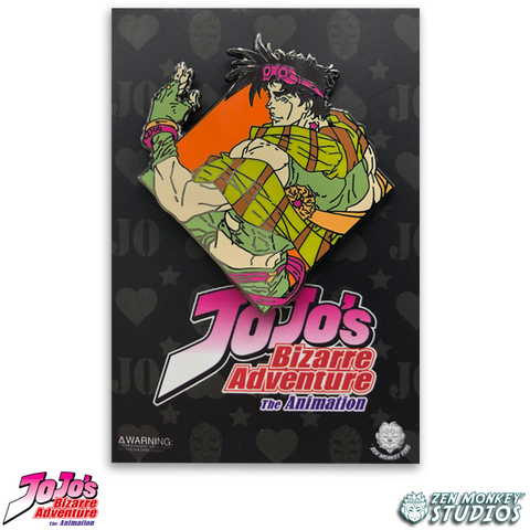 Diamond Joseph Joestar - JoJo's Bizarre Adventure Pin