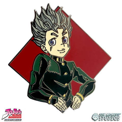 Diamond Koichi - JoJo's Bizarre Adventure Pin