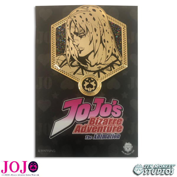 Golden Diavolo - JoJo's Bizarre Adventure Pin