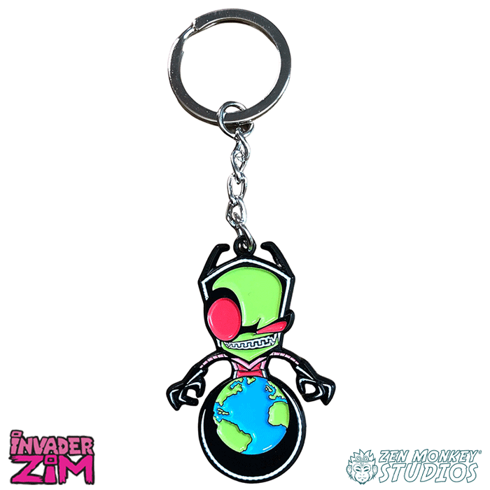 World Domination! - Invader Zim Keychain