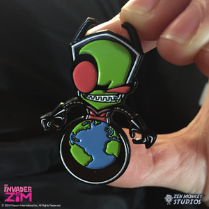 World Domination Zim - Invader Zim Pin