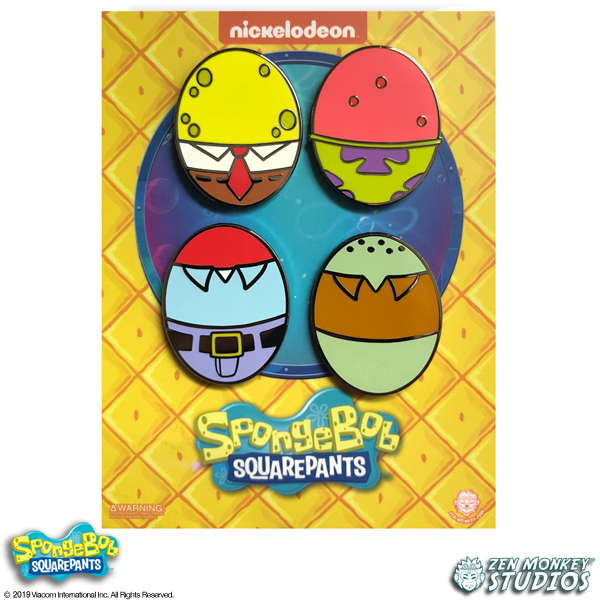 Spongebob Easter Egg Set - Spongebob Squarepants Pin