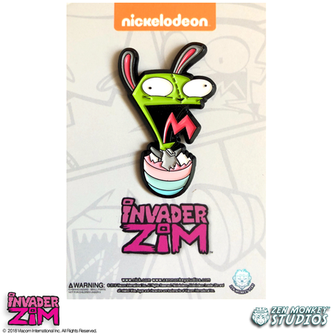 Easter Gir - Invader Zim Pin