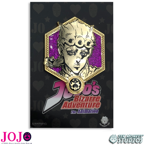 Golden Giorno Giovanna - JoJo's Bizarre Adventure Pin