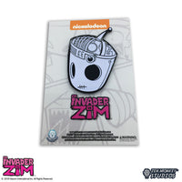 Glow in the dark Gir X-Ray - Invader Zim Pin