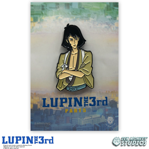 Goemon - Lupin the 3rd Collectible Pin