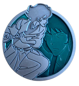 Goemon - Portrait Series (Translucent Pin): Lupin the Third Pin