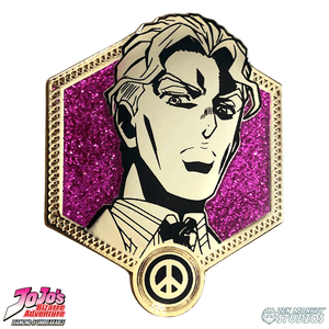Golden Yoshikage Kira - JoJo's Bizarre Adventure Pin