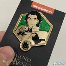 Load image into Gallery viewer, Golden Kuvira  - The Legend of Korra Pin