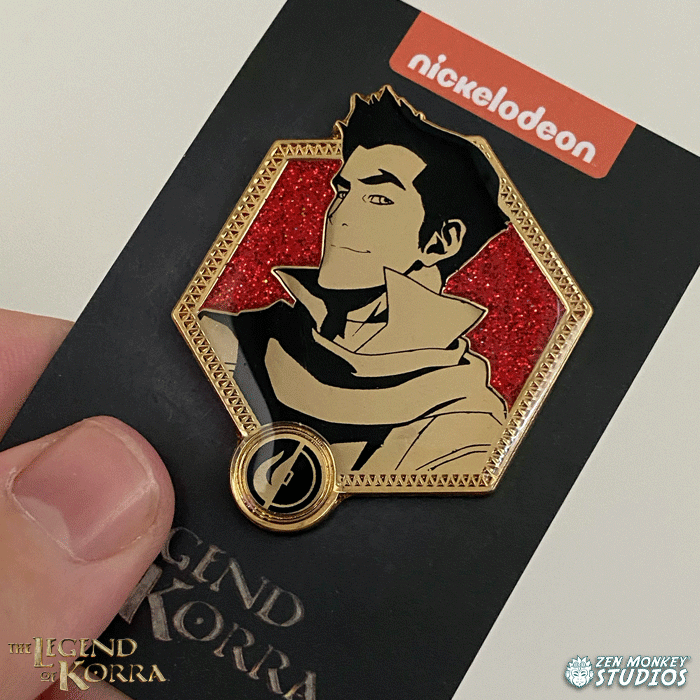 Golden Mako - The Legend of Korra Pin