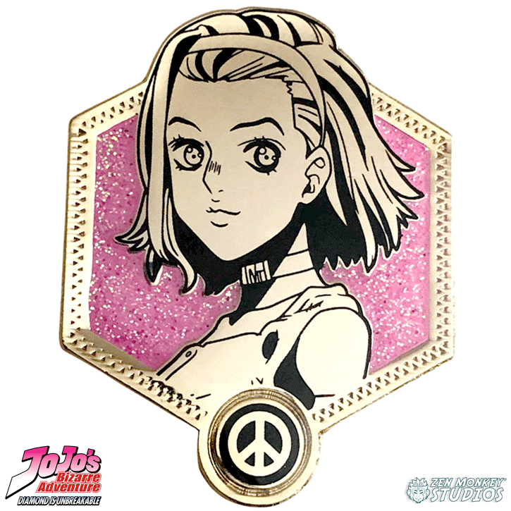 Golden Reimi Sugimoto - JoJo's Bizarre Adventure Pin