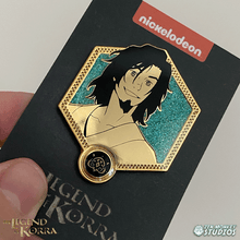Load image into Gallery viewer, Golden Wan  - The Legend of Korra Pin