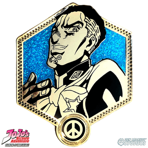 Golden Yuya Fungami - JoJo's Bizarre Adventure Pin