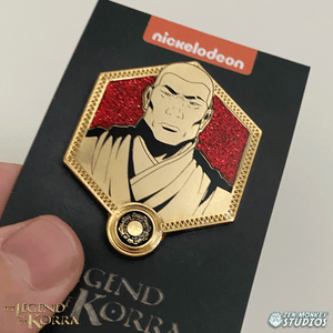 Golden Zaheer - The Legend of Korra Pin