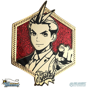 Golden Apollo Justice: Ace Attorney Pin
