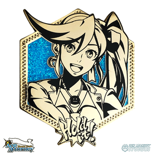 Golden Athena Cykes: Ace Attorney Pin