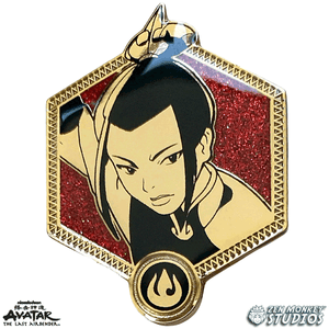Golden Azula - Avatar The Last Airbender Pin