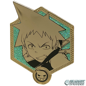 Golden Blackstar - Soul Eater Collectible Pin
