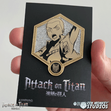 Load image into Gallery viewer, Golden Connie - 1st Edition Attack on Titan Collectible Enamel Pin