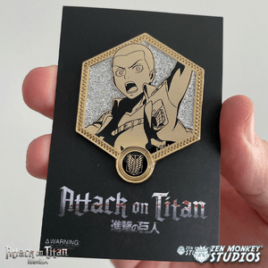 Golden Connie - 1st Edition Attack on Titan Collectible Enamel Pin