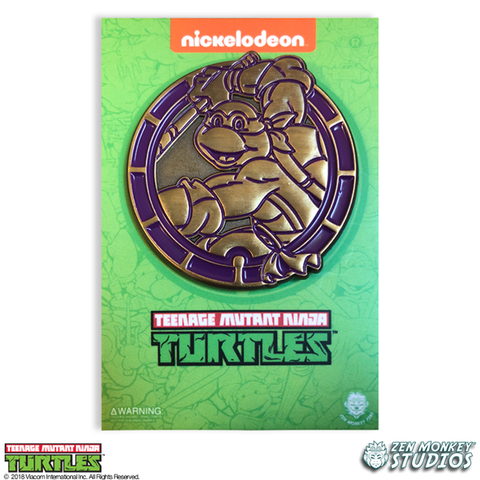 Golden Donnie Emblem - TMNT Limited Edition Pin