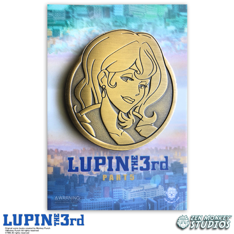 Golden Fujiko - Lupin The 3rd Limited Edition Pin