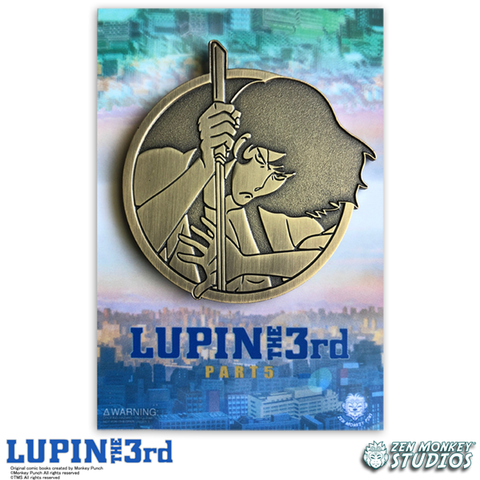 Golden Goemon - Lupin The 3rd Limited Edition Pin