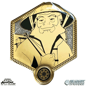 Golden Iroh - Avatar The Last Airbender Pin