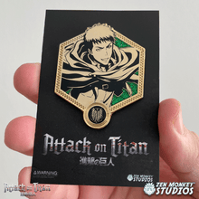 Load image into Gallery viewer, Golden Jean - 1st Edition Attack on Titan Collectible Enamel Pin