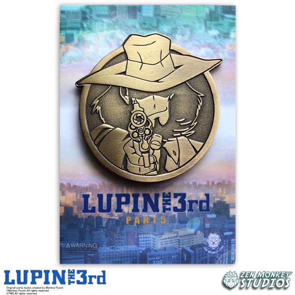 Golden Jigen - Lupin The 3rd Limited Edition Pin