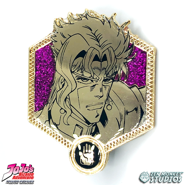 Golden Kakyoin - JoJo's Bizarre Adventure Pin