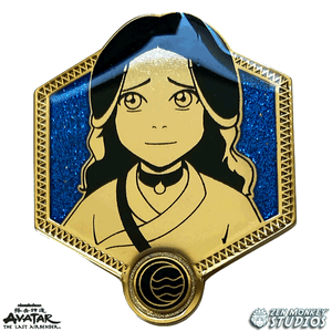 Golden Katara - Avatar The Last Airbender Pin