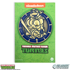 Golden Leo Emblem - TMNT Limited Edition Pin