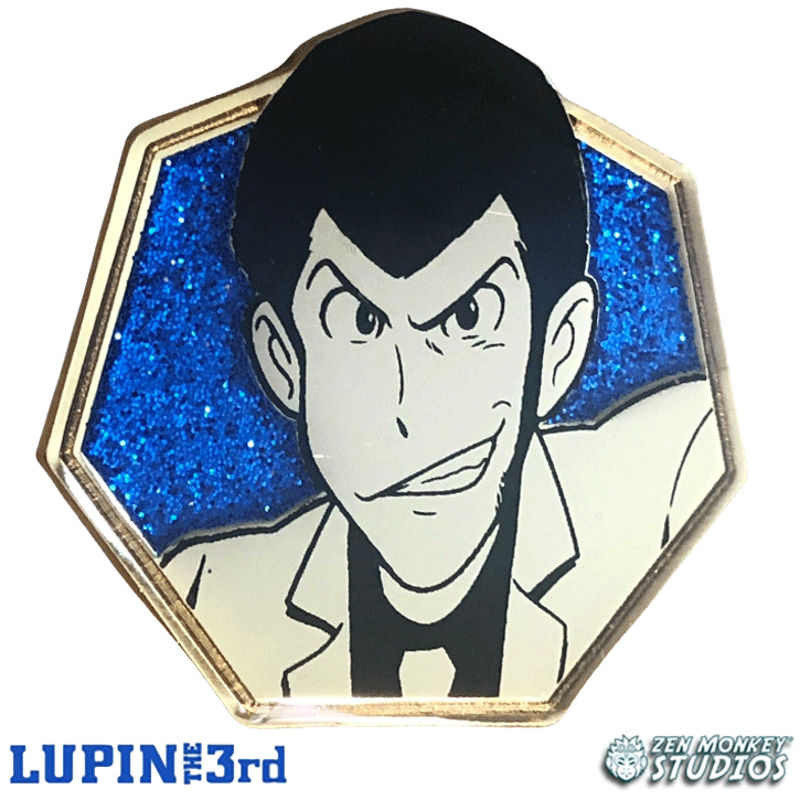 Lupin - Golden Series: Lupin the Third Pin
