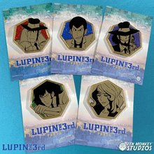 Load image into Gallery viewer, Golden Lupin Series: Pin Combo