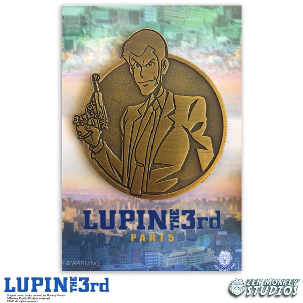 Golden Lupin - Lupin The 3rd Limited Edition Pin