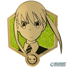 Load image into Gallery viewer, Golden Maka Albarn - Soul Eater Collectible Pin